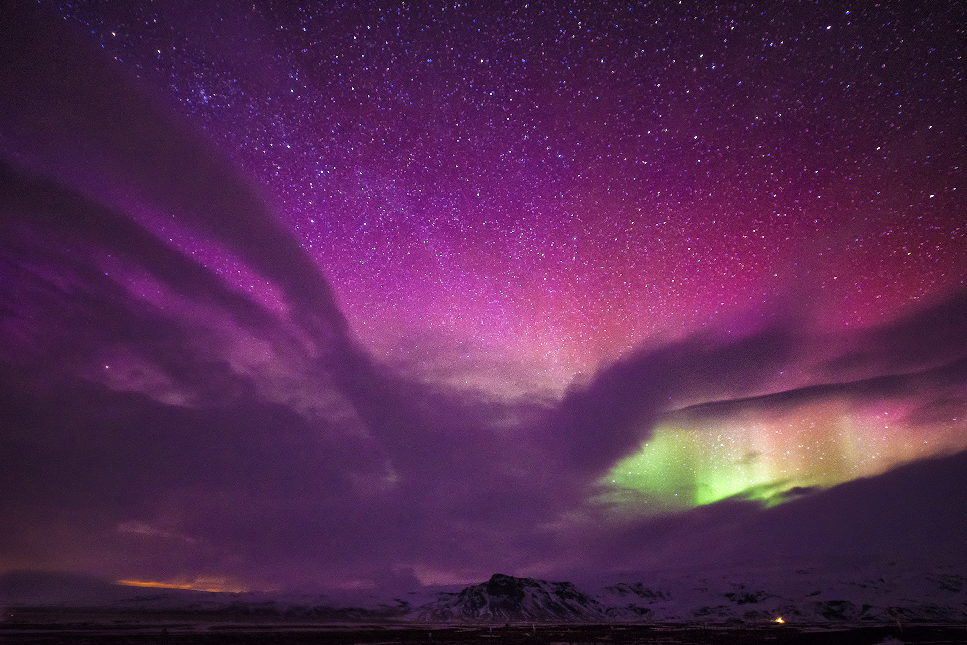 purple aurora borealis wallpapers x - photo #36