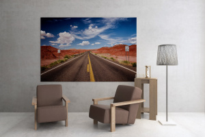 USA on the road, viaggio sulle strade americane - Fotografie strade - route photos - stock photographs - american road - on the road - fine art print poster landscape